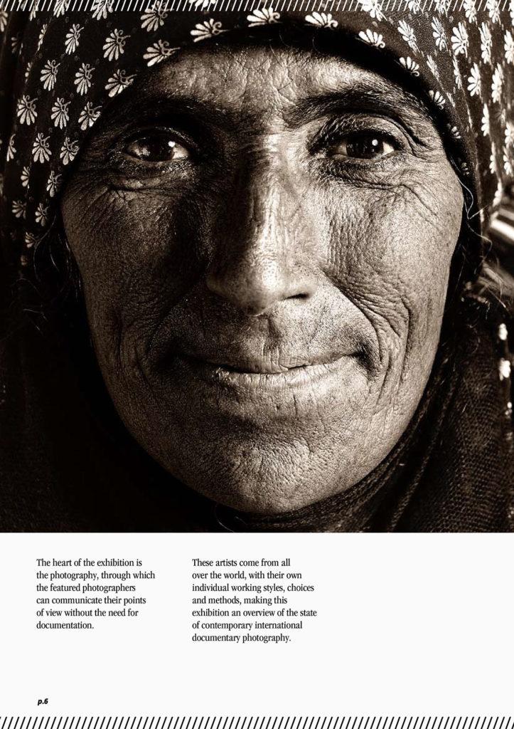 Catalogo per mostra fotografica Images to stop tuberculosis
