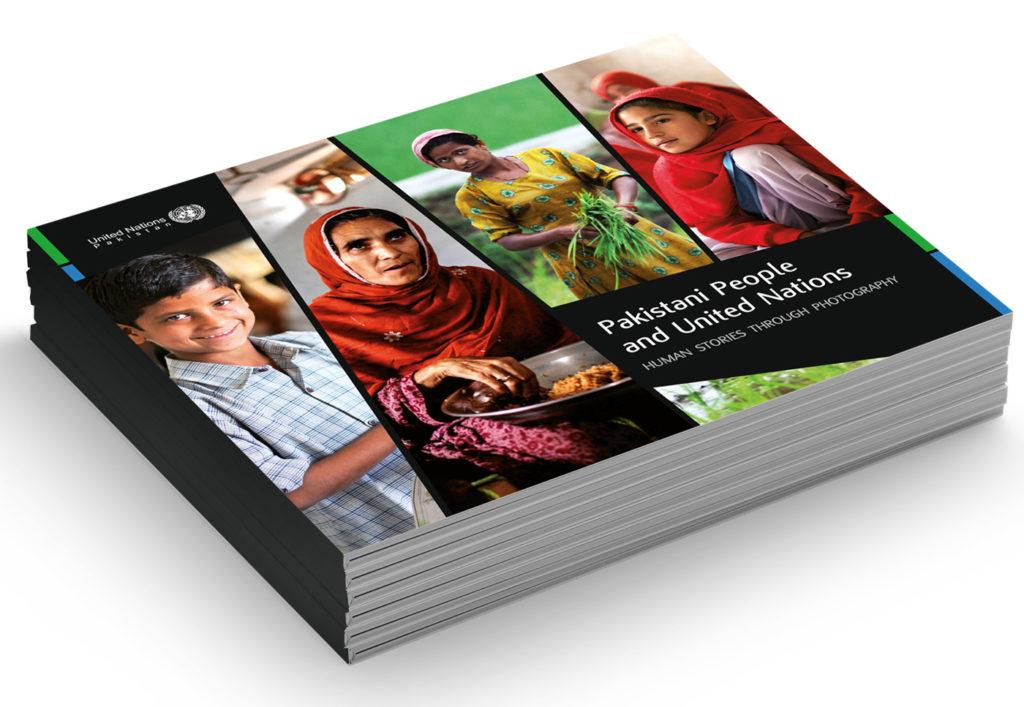 Catalogo mostra Pakistani people and United Nations