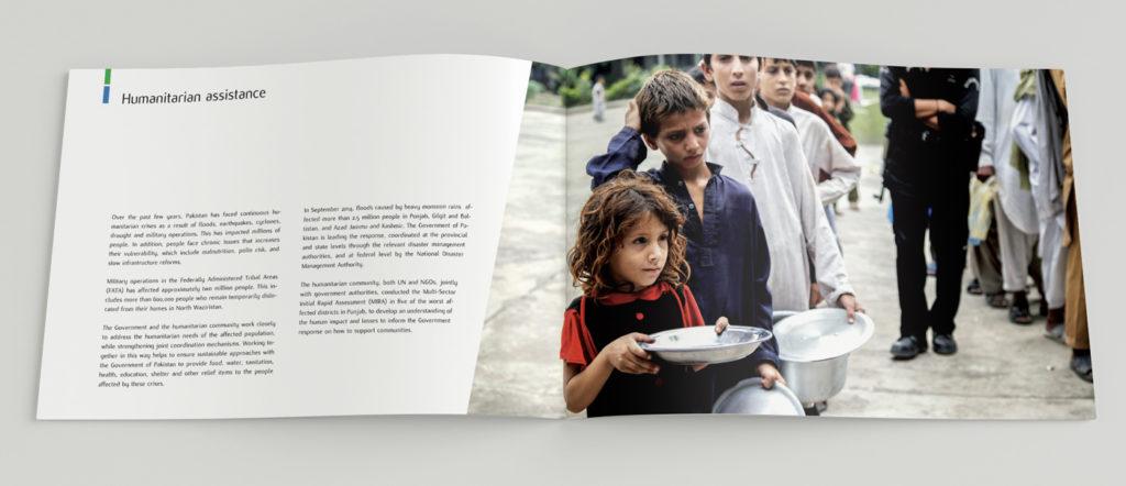 Catalogo mostra Pakistani people and United Nations – catalogo