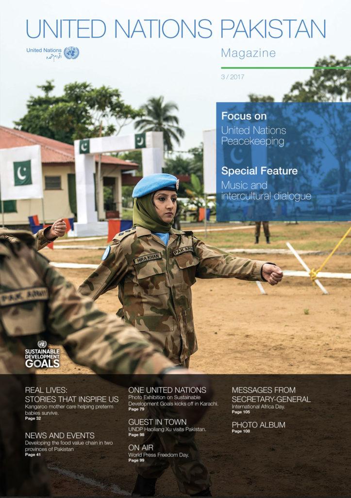 Magazine United Nations Pakistan – copertina
