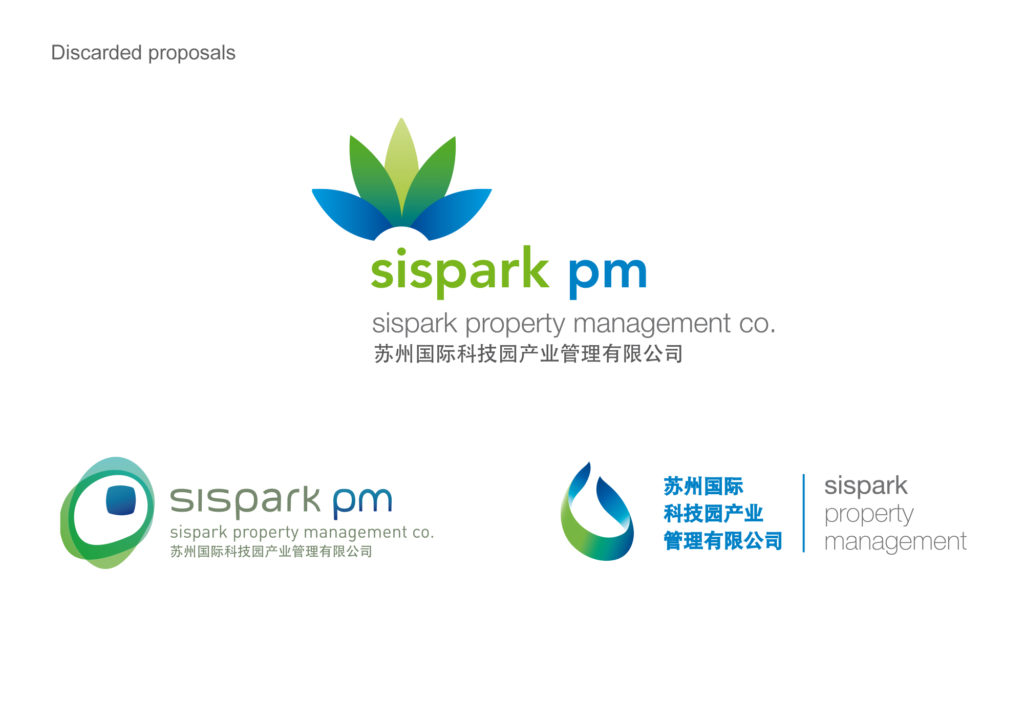 Sispark Property Management China, discarded proposals