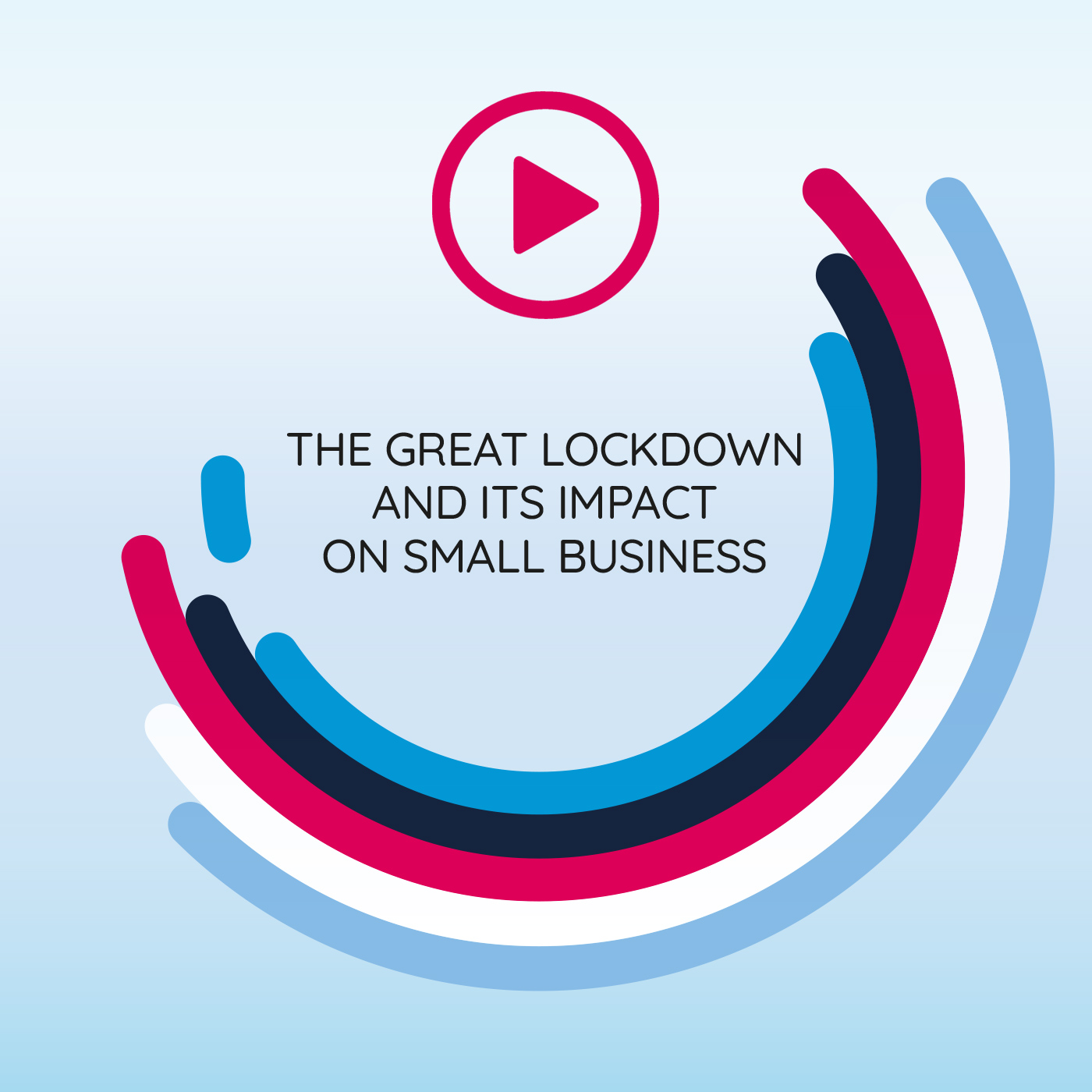 Video graphics for COVID-19, The great lockdown and it's impact on small business - Graphic Design Mirko Neri