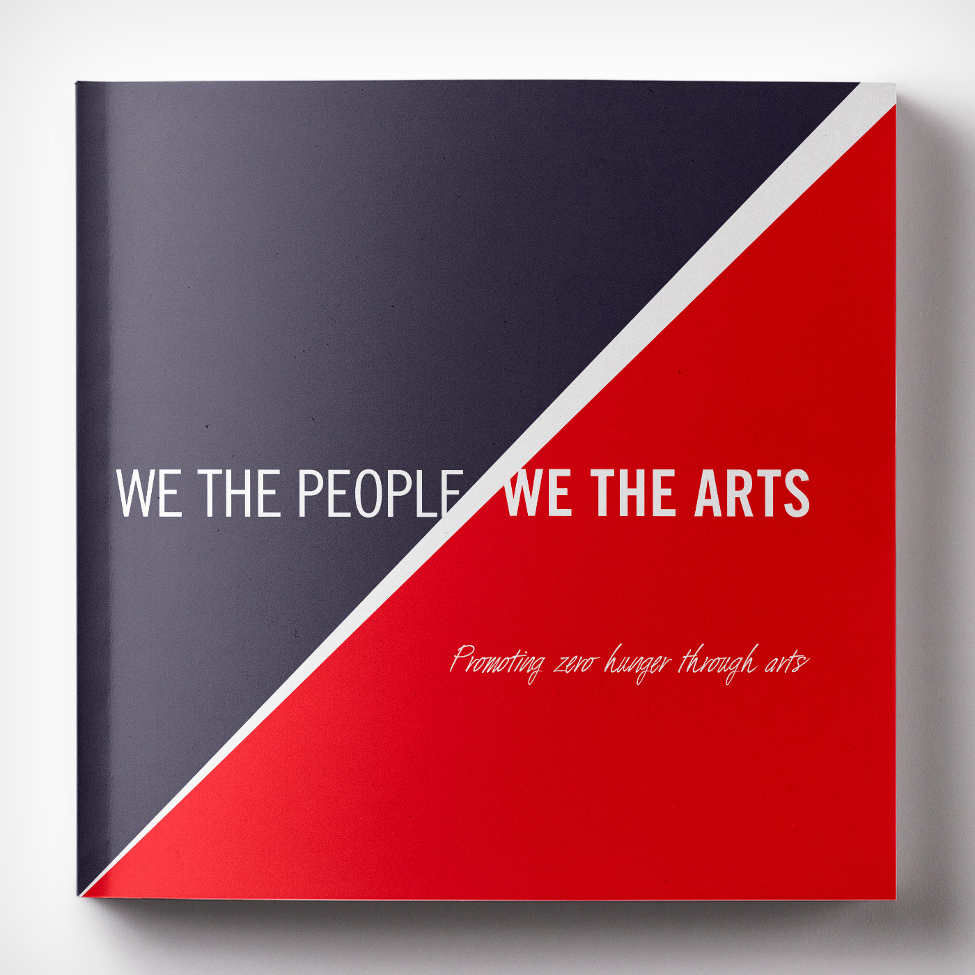 We the People, We the Arts, mostra artistica Nazioni Unite Pakistan - Graphic Design Mirko Neri